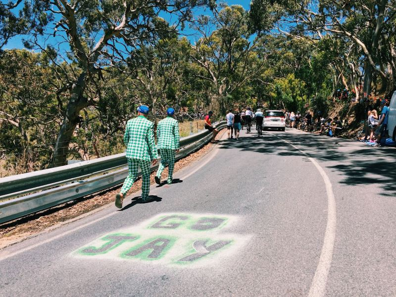 Willunga Hill Tour Down Under