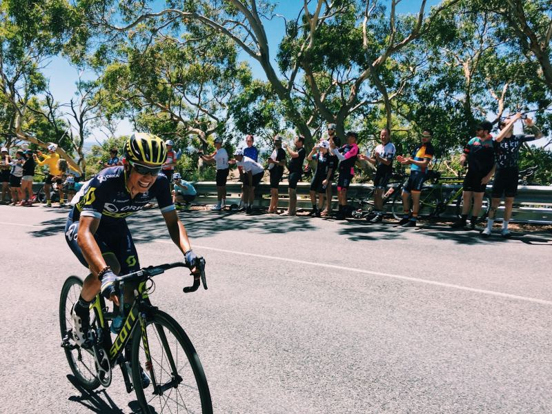 Esteban Chavas Tour Down Under