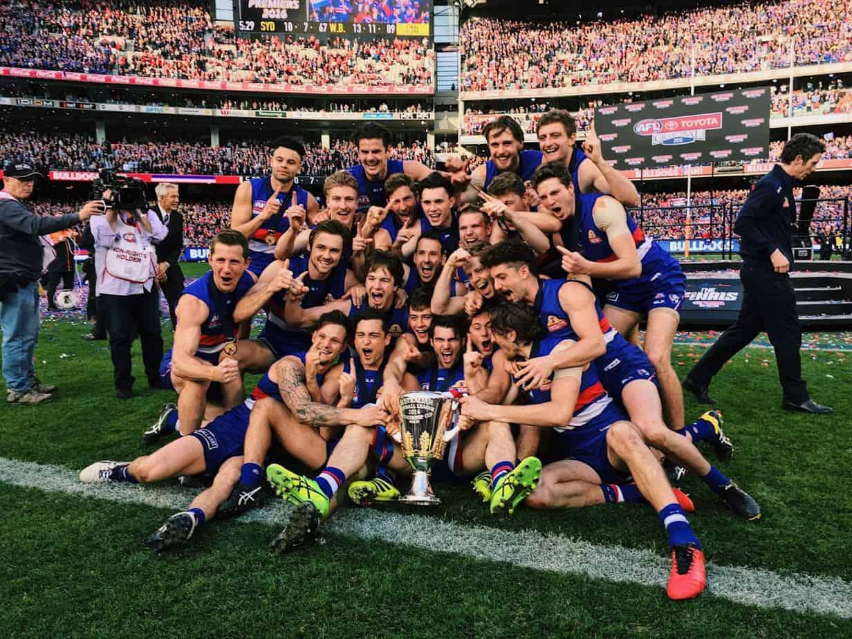 Behind the scenes: On board the Western Bulldogs bandwagon to premiership glory